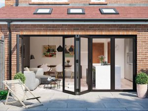 Aluminium WarmCore Bifold Door
