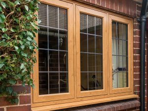 Casement Windows with Flush Sashes