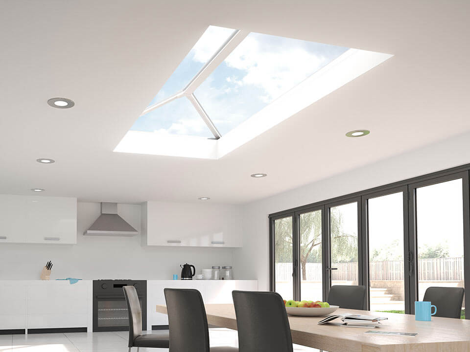 What's the difference between skypod roofs and roof lanterns?