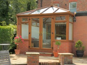 Oak Effect Conservatory