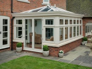 Orangery with Residence 9 Windows