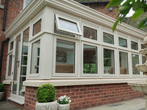 Residence 9 Windows on Cream Orangery