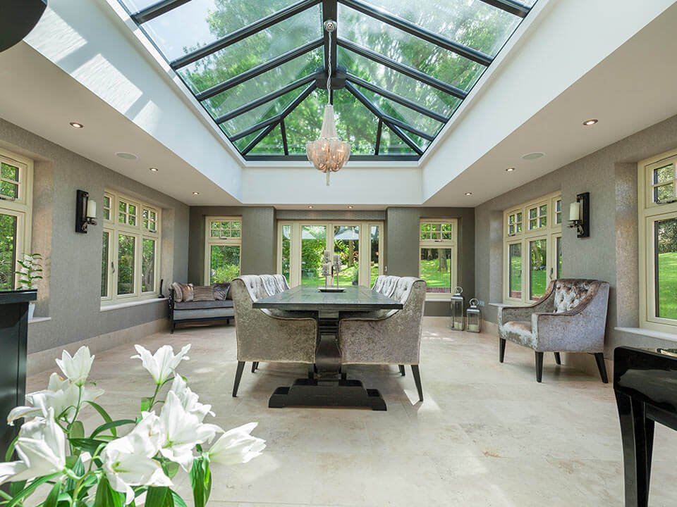 Residence 9 Windows in Orangery Interior