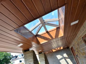 uPVC Roof Lantern Sky Pod