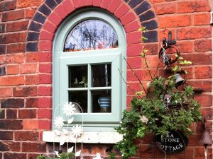Single Chartwell Green Casement Window