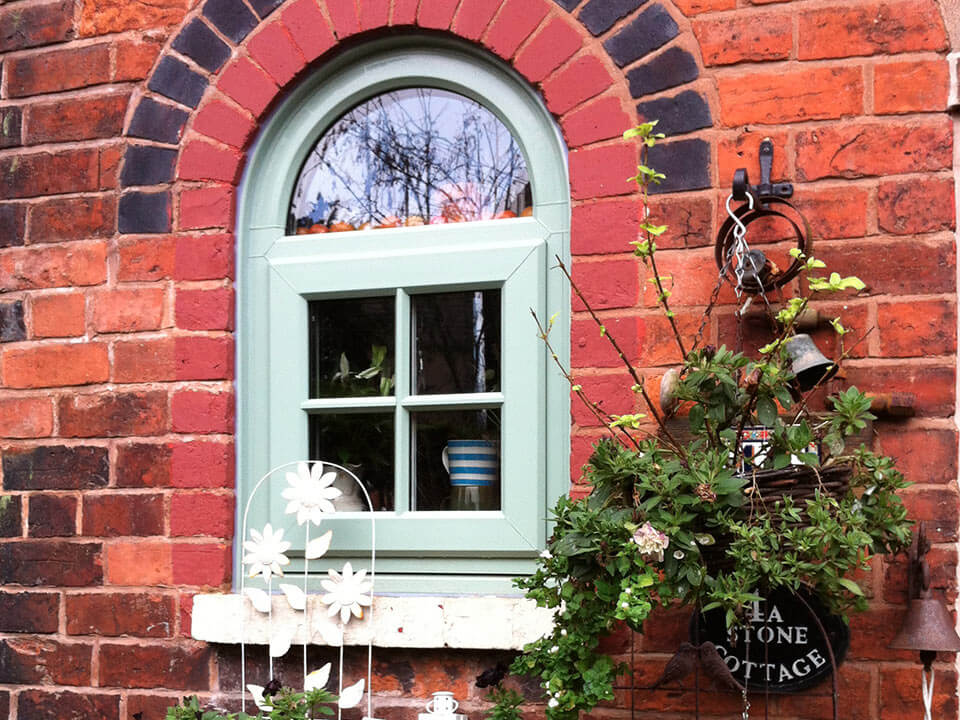 Single Chartwell Green Casement Window