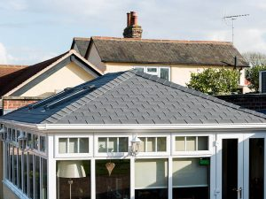 Tiled Edwardian Conservatory Roof
