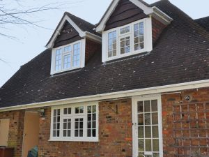 White Georgian Casement Windows