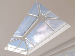White uPVC Lantern Roof